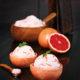 Grapefruit sorbet