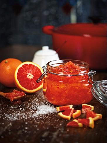 cara cara orange chilli marmalade