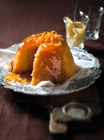 naartjie golden syrup pudding