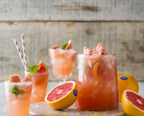 Star ruby Grapefruit coolers